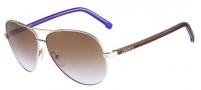 Lacoste L155S Sunglasses Sunglasses - 045 Silver