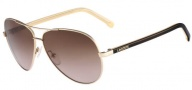 Lacoste L155S Sunglasses Sunglasses - 714 Gold