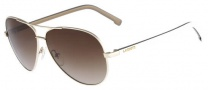 Lacoste L155S Sunglasses Sunglasses - 718 Light Gold