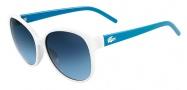 Lacoste L641S Sunglasses Sunglasses - 105 White / Blue