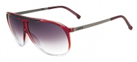 Lacoste L653S Sunglasses Sunglasses - 604 Red Gradient