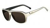 Lacoste L655S Sunglasses Sunglasses - 264 Cream / Butter (Ivory)