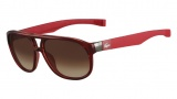 Lacose L663S Sunglasses Sunglasses - 615 Red