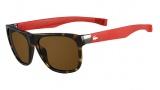 Lacoste L664S Sunglasses Sunglasses - 214 Havana / Red