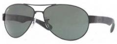 Ray Ban 3509 Sunglasses Sunglasses - 006/71 Matte Black / Green Lens