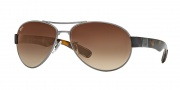 Ray Ban 3509 Sunglasses Sunglasses - 004/13 Gunmetal / Brown Gradient Lens