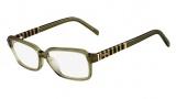 Fendi F1001 Eyeglasses Eyeglasses - 317 Khaki