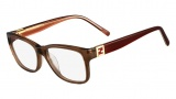 Fendi F1011 Eyeglasses Eyeglasses - 210 Brown