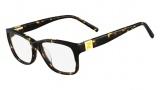 Fendi F1011 Eyeglasses Eyeglasses - 214 Havana