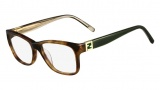 Fendi F1011 Eyeglasses Eyeglasses - 215 Striped Brown