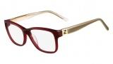 Fendi F1011 Eyeglasses Eyeglasses - 603 Burgundy