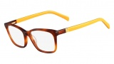 Fendi F1013 Eyeglasses Eyeglasses - 215 Light Havana / Yellow
