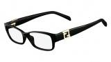 Fendi F1015R Eyeglasses Eyeglasses - 001 Black