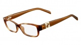 Fendi F1015R Eyeglasses Eyeglasses - 725 Light Havana