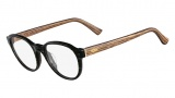 Fendi F1023 Eyeglasses Eyeglasses - 001 Stripped Black