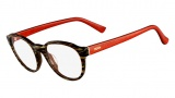 Fendi F1023 Eyeglasses Eyeglasses - 210 Striped Brown / Red