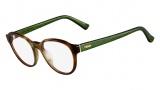Fendi F1023 Eyeglasses Eyeglasses - 216 Havana / Green