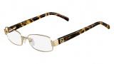 Fendi F1029R Eyeglasses Eyeglasses - 714 Gold / Tortoise