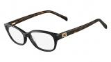 Fendi F1033 Eyeglasses Eyeglasses - 001 Black / Havana
