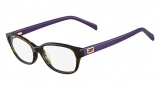 Fendi F1033 Eyeglasses Eyeglasses - 214 Havana / Lavender