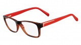 Fendi F1036 Eyeglasses Eyeglasses - 214 Havana / Red