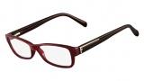 Fendi F1037 Eyeglasses Eyeglasses - 603 Burgundy