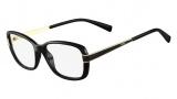 Fendi F1038 Eyeglasses Eyeglasses - 001 Black / Black Temple