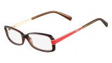 Fendi F1039 Eyeglasses Eyeglasses - 209 Brown / Red