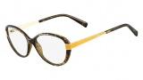 Fendi F1040 Eyeglasses Eyeglasses - 238 Havana / Yellow
