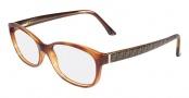 Fendi F940 Eyeglasses Eyeglasses - 725 Blonde Havana