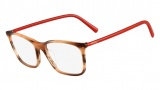 Fendi F946 Eyeglasses Eyeglasses - 210 Striped Brown / Orange