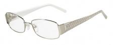 Fendi F964 Eyeglasses Eyeglasses - 033 Palladium / White