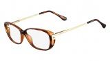 Fendi F969 Eyeglasses Eyeglasses - 238 Havana