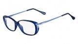Fendi F969 Eyeglasses Eyeglasses - 425 Petroleum Blue
