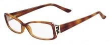 Fendi F974 Eyeglasses Eyeglasses - 725 Blonde Havana