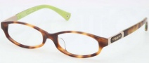 Coach HC6037F Eyeglasses Eyeglasses - 5052 Tortoise / Demo Lenses