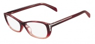 Fendi F977 Eyeglasses Eyeglasses - 608 Red Gradient