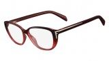 Fendi F978 Eyeglasses Eyeglasses - 608 Red Gradient