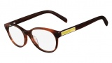 Fendi F979 Eyeglasses Eyeglasses - 232 Striped Brown