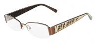 Fendi F984 Eyeglasses Eyeglasses - 210 Shiny Brown