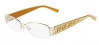 Fendi F984 Eyeglasses Eyeglasses - 714 Shiny Gold