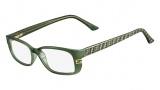 Fendi F999 Eyeglasses Eyeglasses - 315 Green