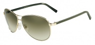 Fendi FS 5194 Sunglasses Sunglasses - 715 Light Gold / Green