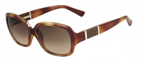 Fendi FS 5202 Sunglasses Sunglasses - 725 Blonde Havana