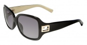 Fendi FS 5206FF Sunglasses Sunglasses - 003 Black / Black Lens