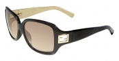 Fendi FS 5206FF Sunglasses Sunglasses - 004 Black / Gold Lens