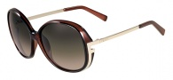 Fendi FS 5207 Sunglasses Sunglasses - 201 Dark Brown