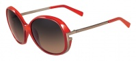 Fendi FS 5207 Sunglasses Sunglasses - 621 Burnt Orange