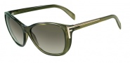 Fendi FS 5219 Sunglasses Sunglasses - 312 Green Grey