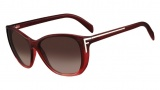 Fendi FS 5219 Sunglasses Sunglasses - 538 Wine Gradient